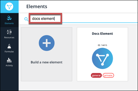 Developer Portal | Cloud Elements